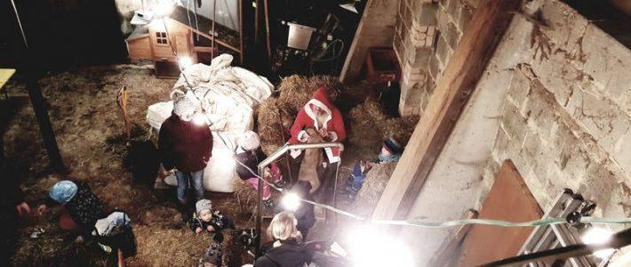 Der Nikolaus kommt auf den Bernhardshof